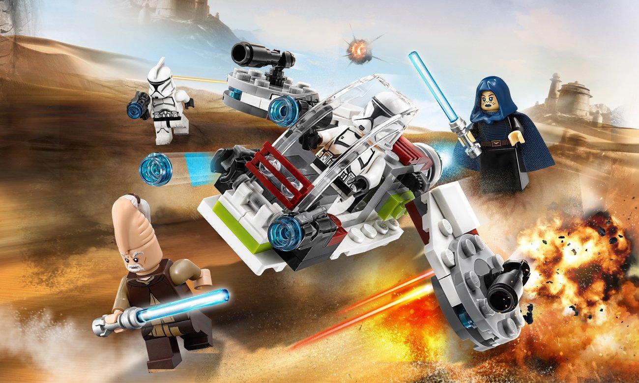 LEGO Star Wars Jedi i żołnierze armii klonów