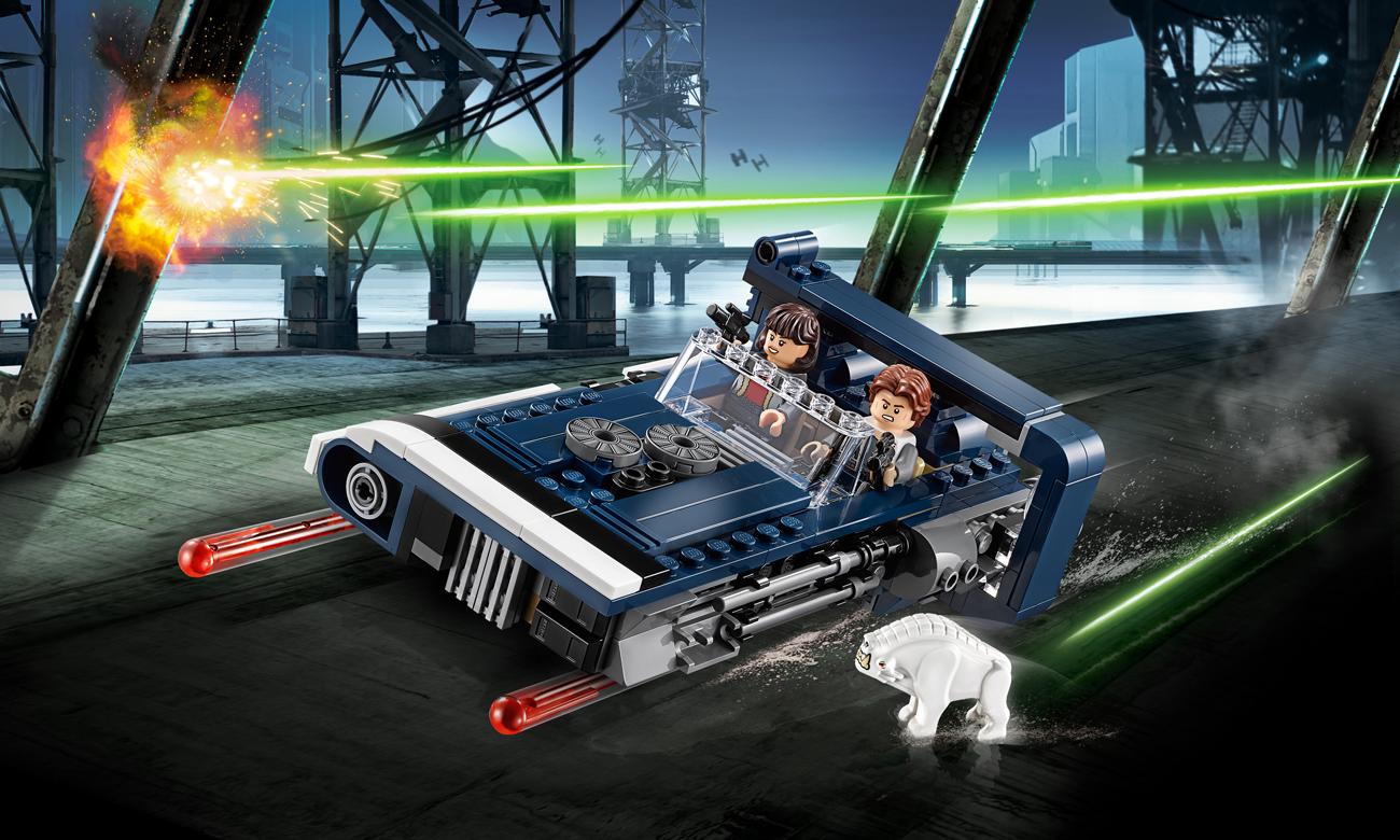LEGO Star Wars Śmigacz Hana Solo