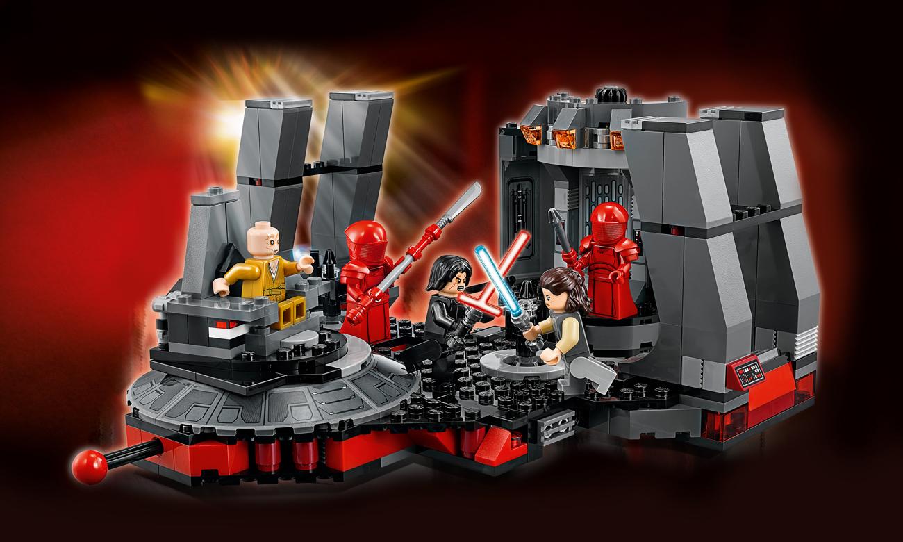 LEGO Star Wars Sala Tronowa Snoke'a