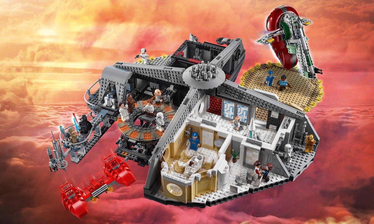 LEGO Star Wars Zdrada w Mieście w Chmurach