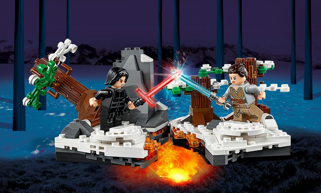 LEGO Star Wars Pojedynek w bazie Starkiller