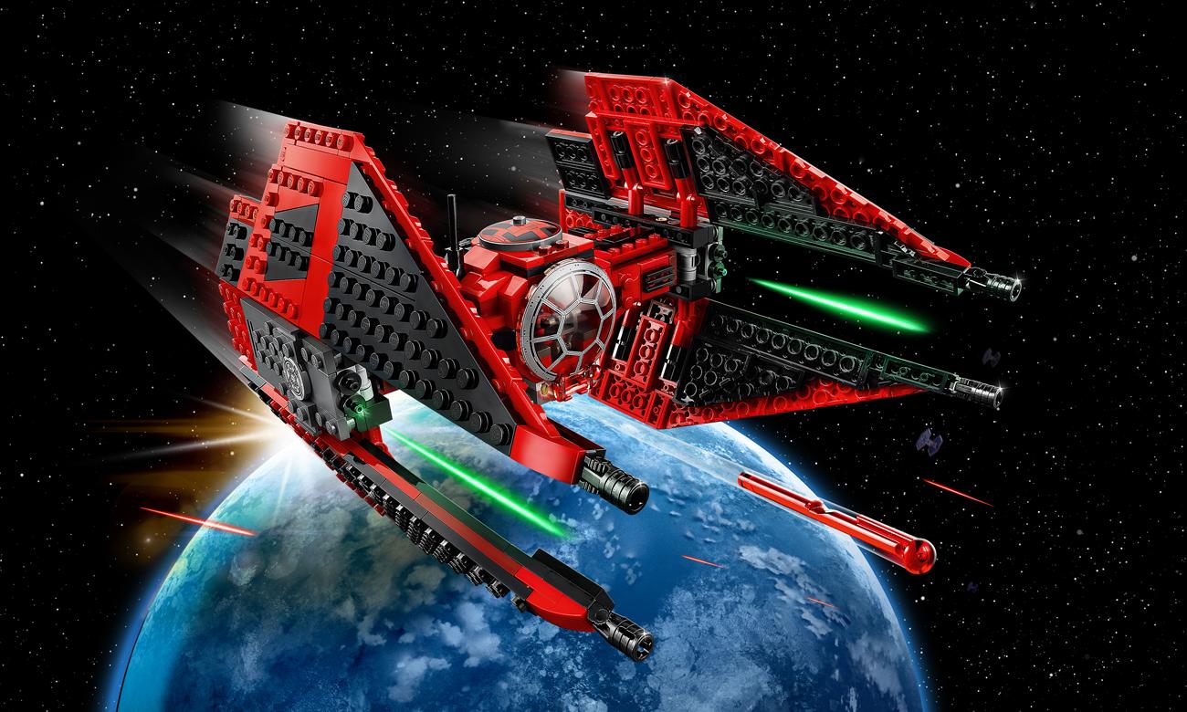 LEGO Star Wars Myśliwiec TIE Majora Vonrega