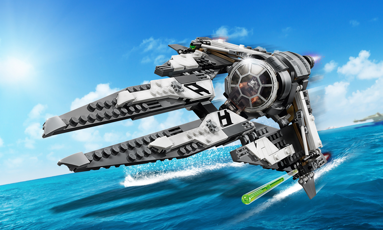 LEGO Star Wars TIE Interceptor Czarny As
