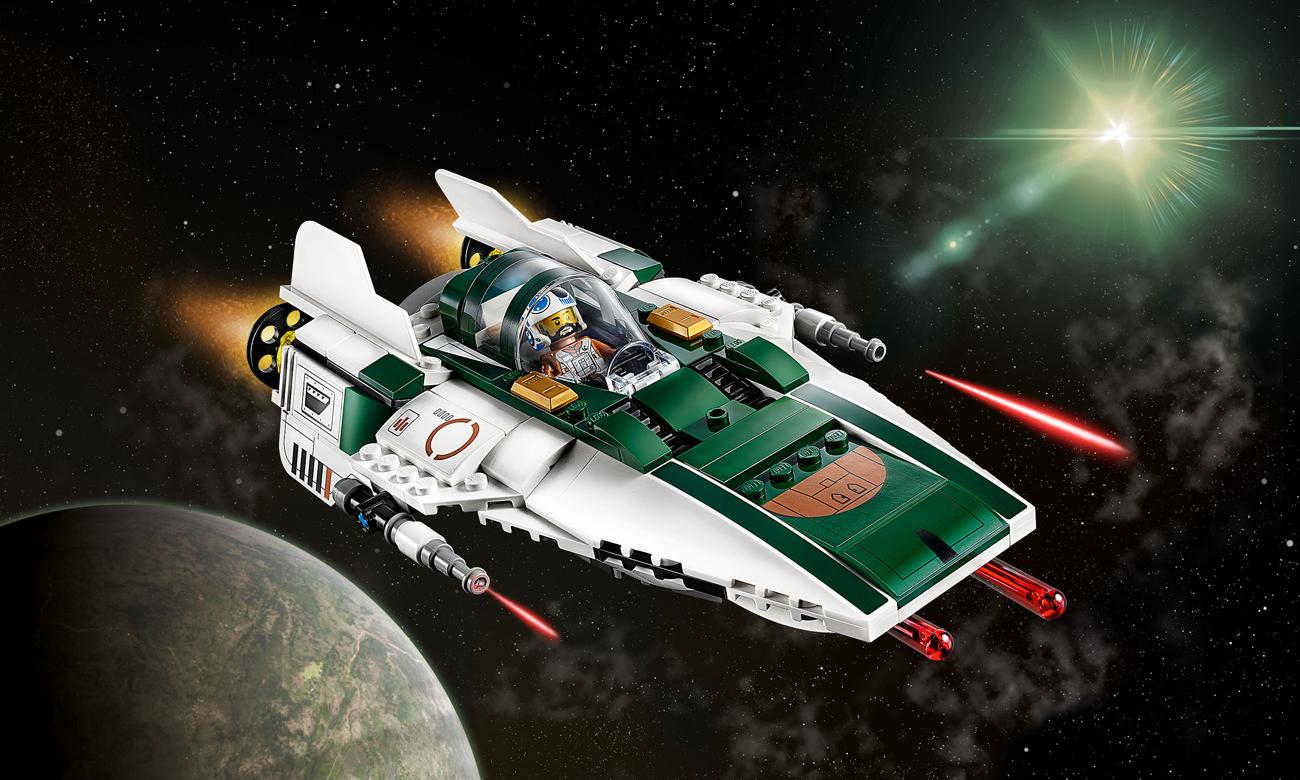 LEGO Star Wars Myśliwiec A-Wing Ruchu Oporu