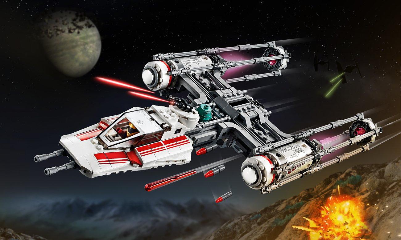 LEGO Star Wars Myśliwiec Y-Wing Ruchu Oporu