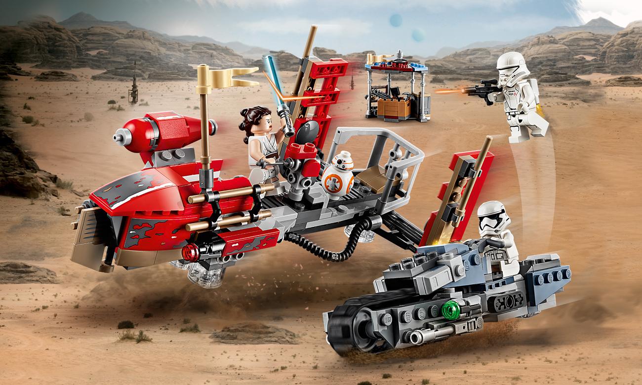 LEGO Star Wars Pościg na śmigaczach w Pasaanie