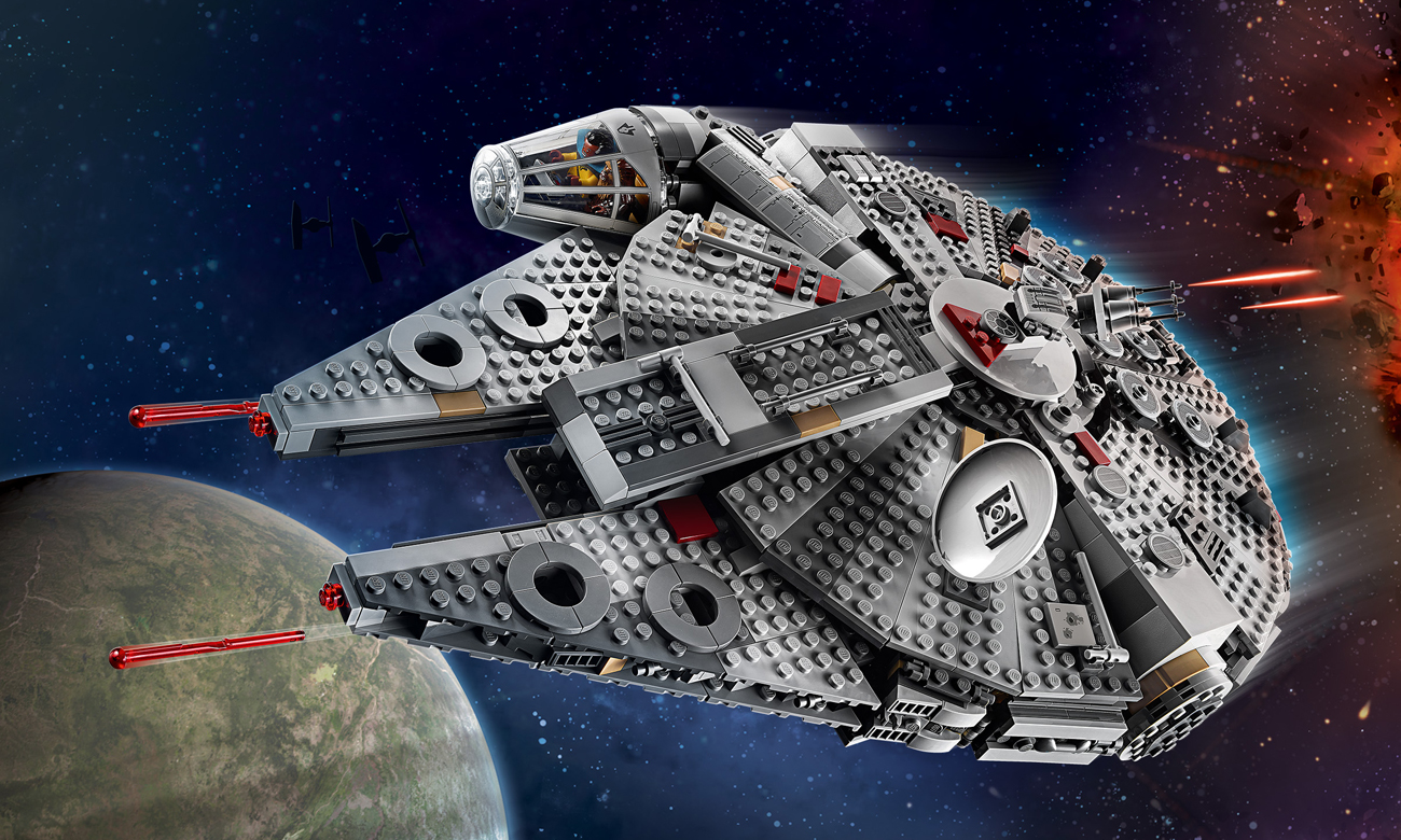LEGO Star Wars Sokół Millennium