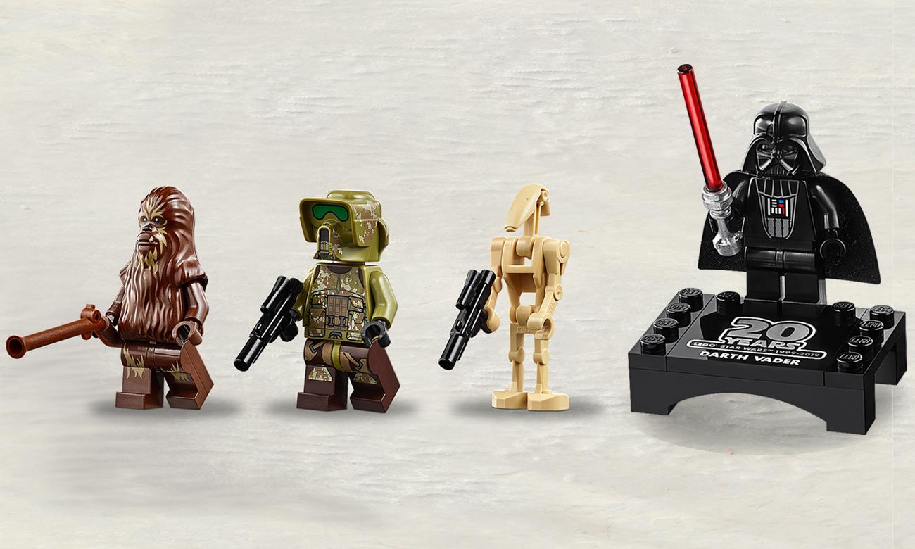 lego minifigurki gwiezdne wojny