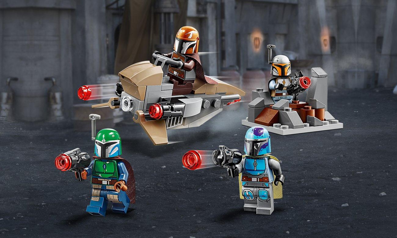 LEGO Star Wars Zestaw bojowy Mandalorianina
