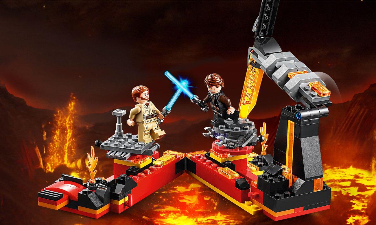 LEGO Star Wars Pojedynek na planecie Mustafar