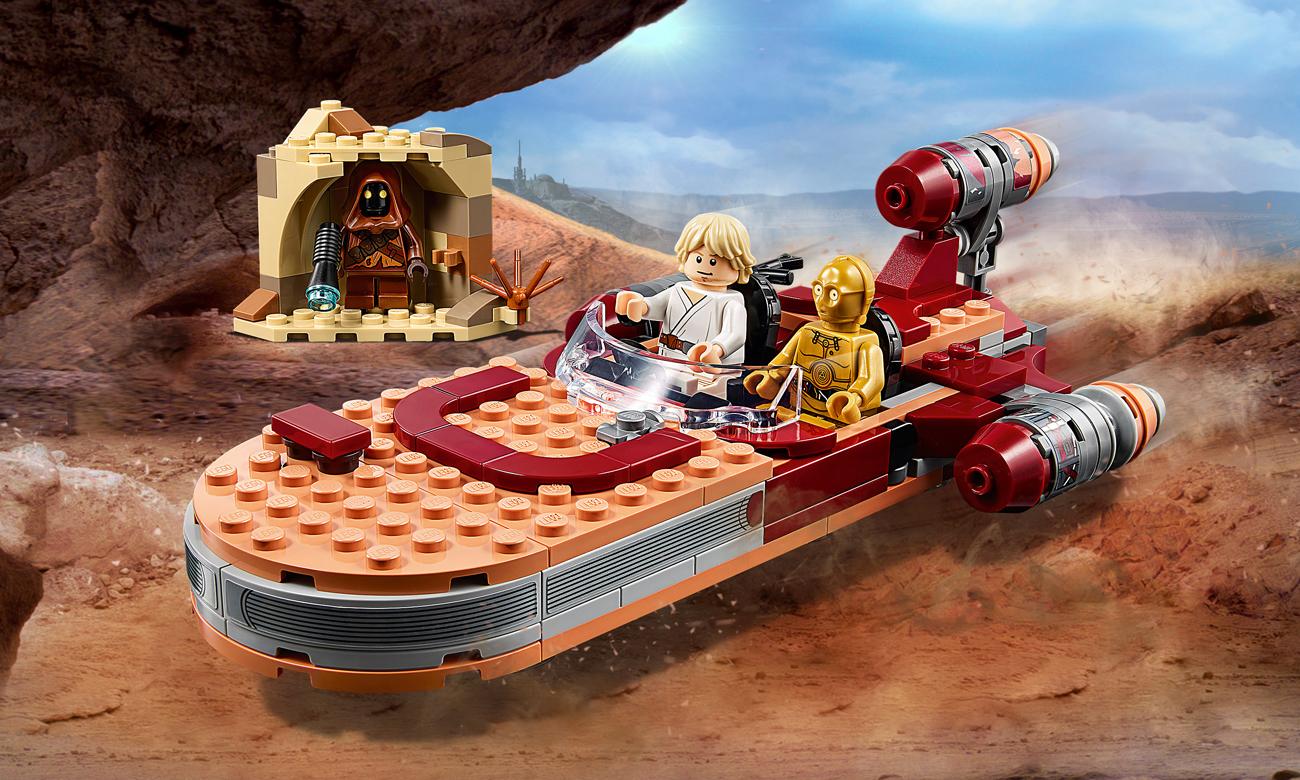 LEGO Star Wars Śmigacz Luke'a Skywalkera