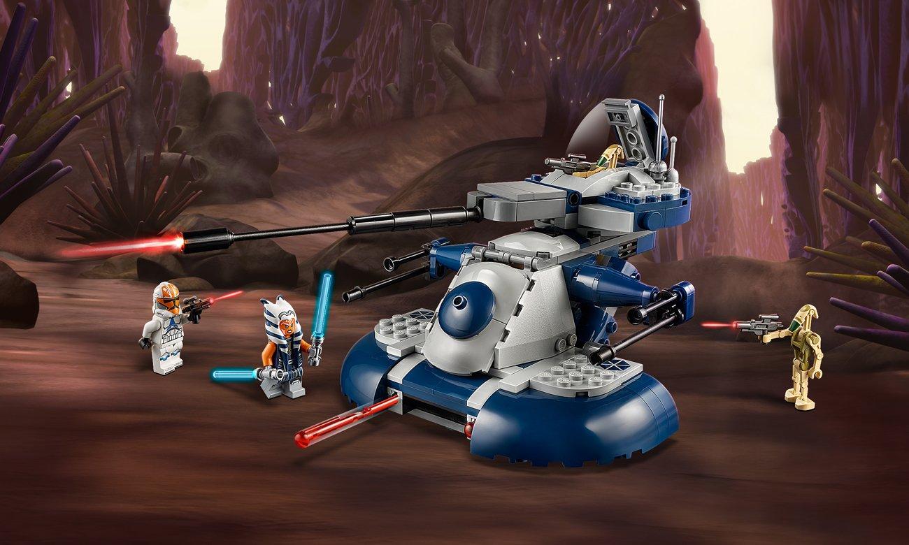 LEGO Star Wars Czołg opancerzony AAT