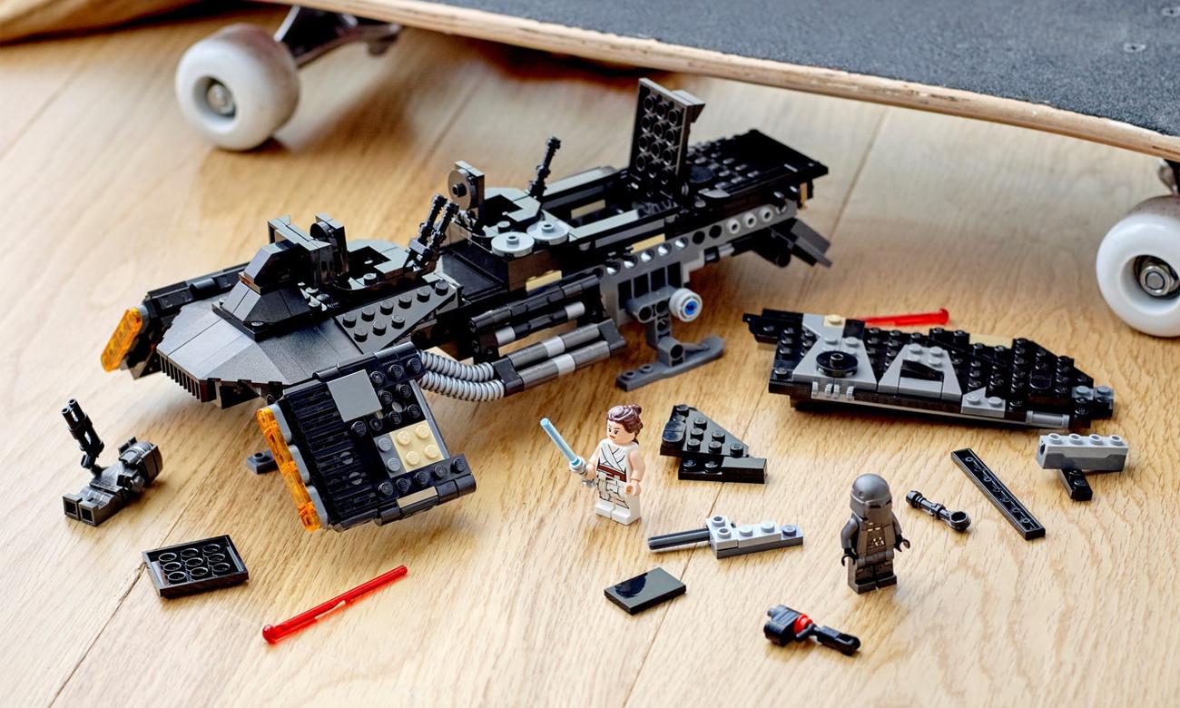 lego star wars zestaw ze statkiem