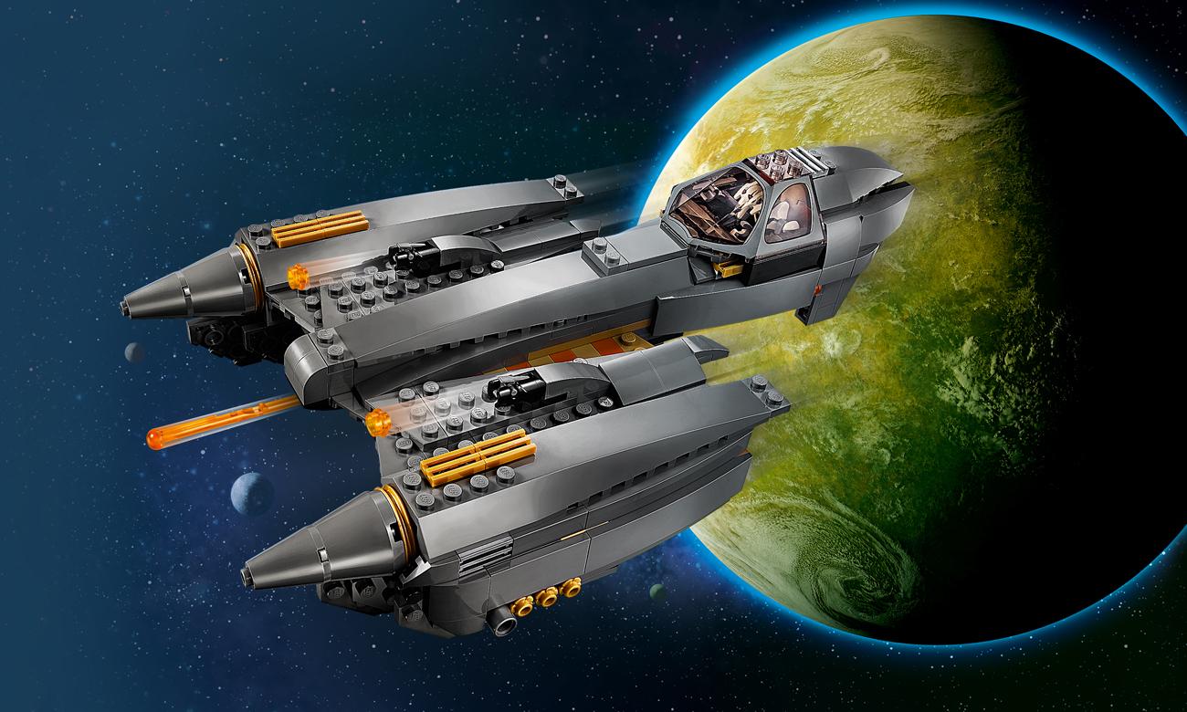 LEGO Star Wars Gwiezdny myśliwiec generała Grievousa