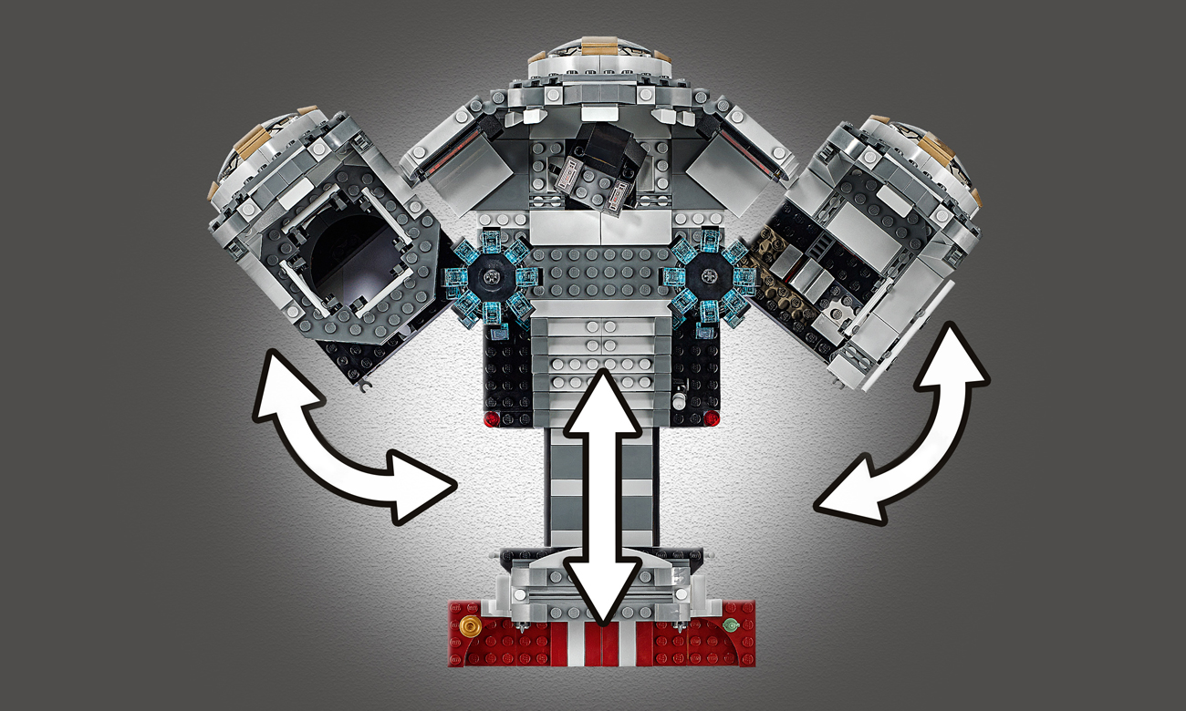 lego star wars statek kosmiczny