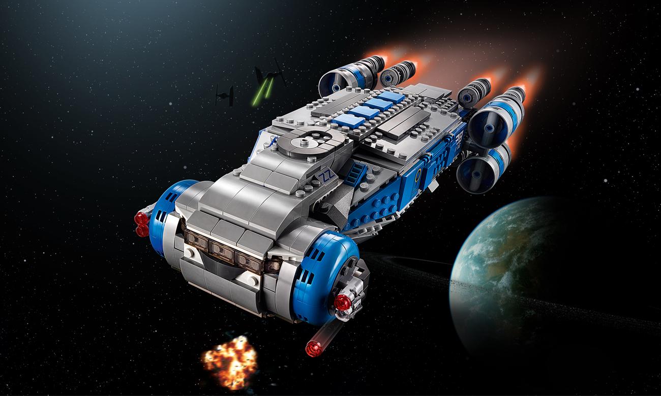 LEGO Star Wars Pojazd transportowy I-TS Ruchu Oporu
