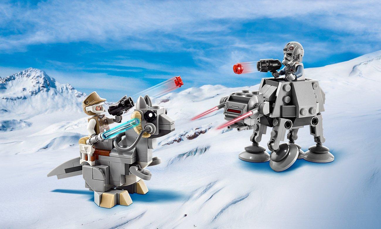 LEGO Star Wars  Mikromyśliwce: AT-AT kontra Tauntaun