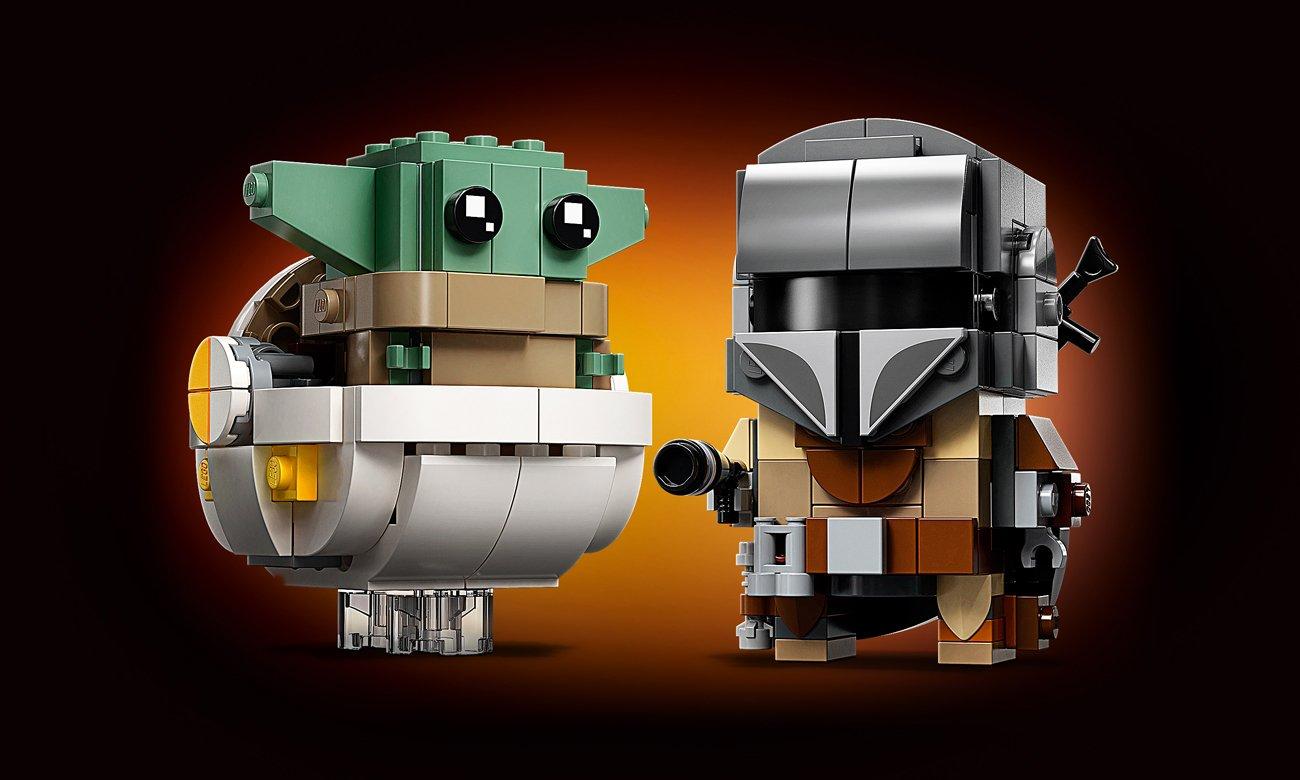 LEGO BrickHeadz Mandalorianin i Dziecko