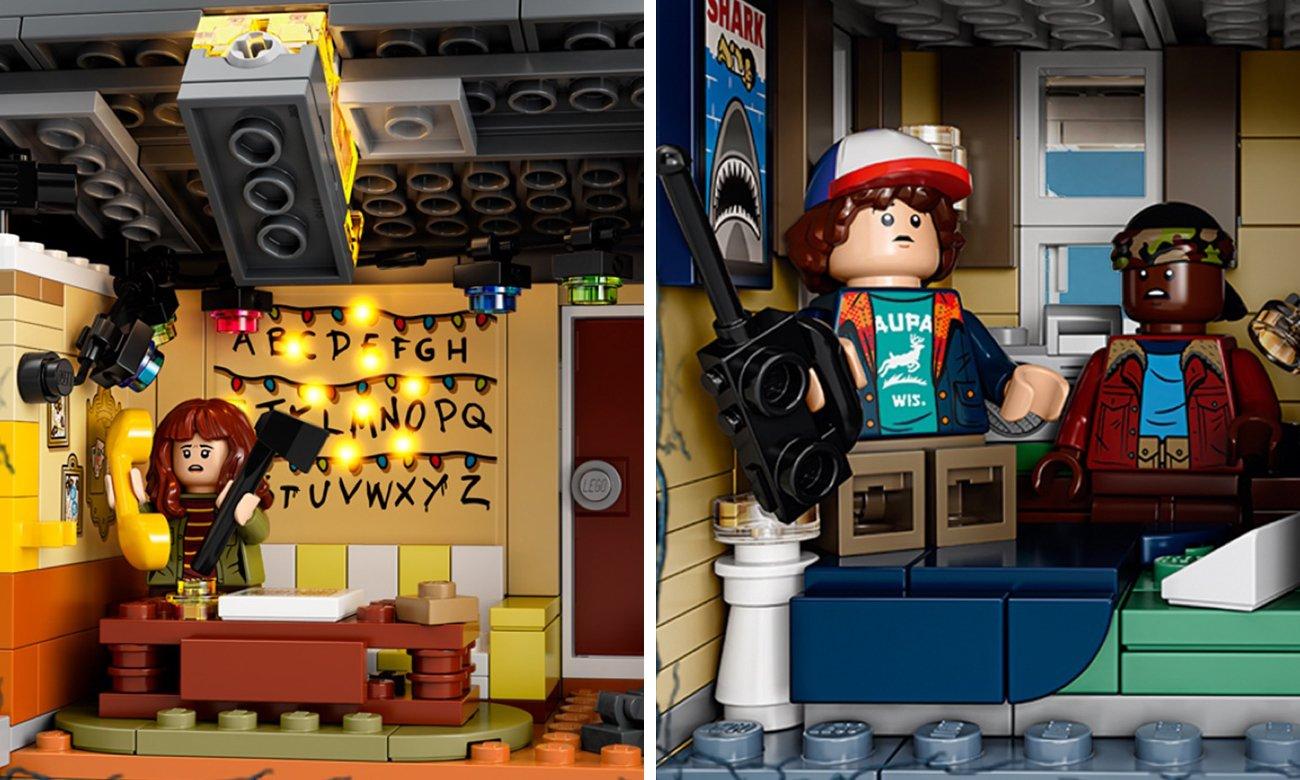 stranger things klocki lego