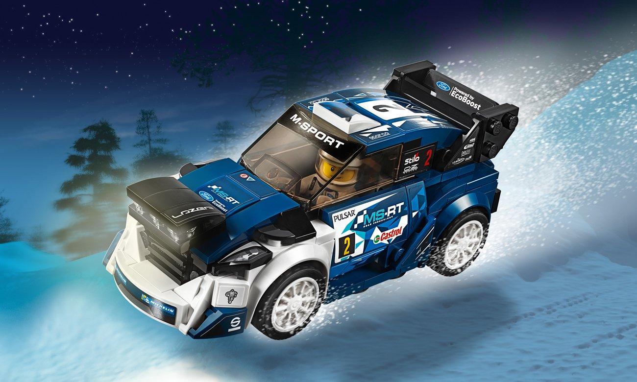 LEGO Speed Champion Ford Fiesta M-Sport WRC