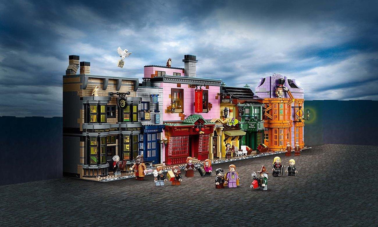 LEGO Harry Potter Chwile z Hogwartu: zajęcia z zajęcia z zaklęć i uroków