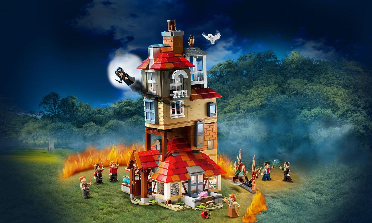 LEGO Harry Potter Atak na Norę