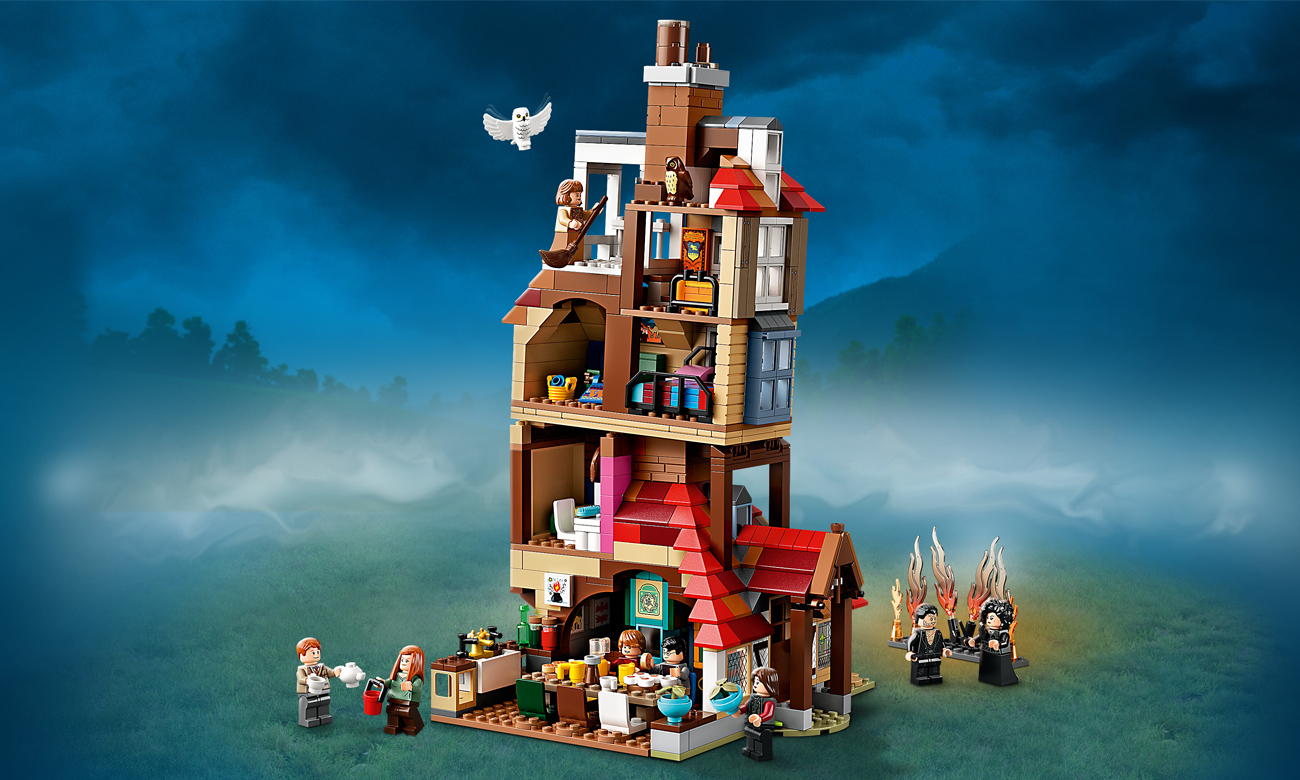 lego harry potter zamek hogwart
