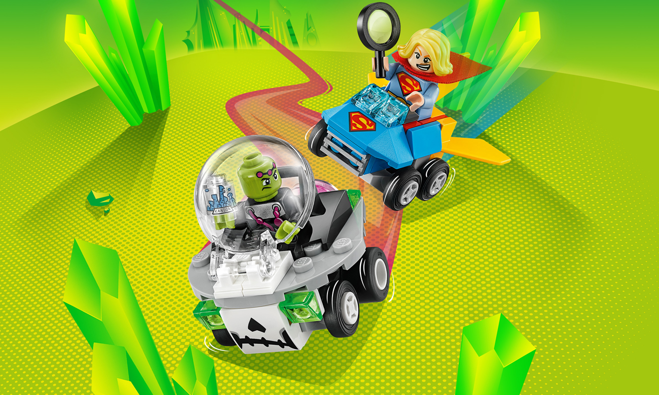 LEGO DC Comics Super Heroes Supergirl vs. Brainiac