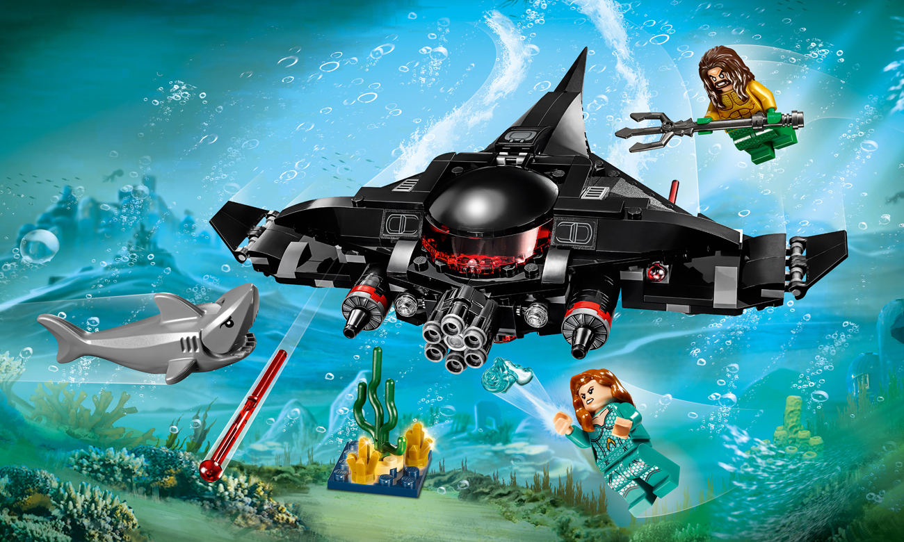 LEGO DC Super Heroes Aquaman Atak Black Manty