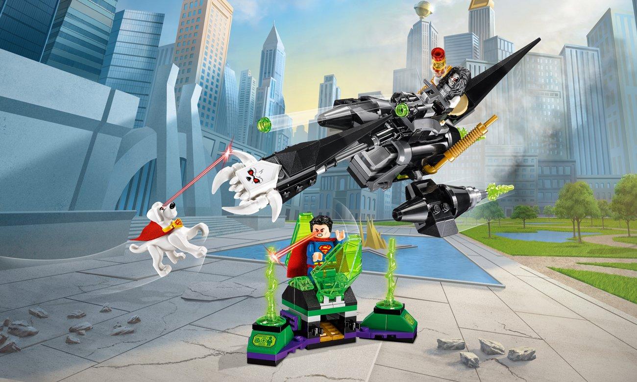 LEGO® DC Comics Super Heroes Superman i Krypto łączą siły
