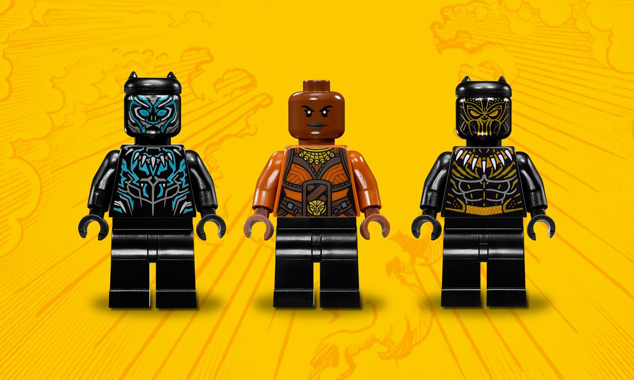 LEGO® Marvel Super Heroes black panther