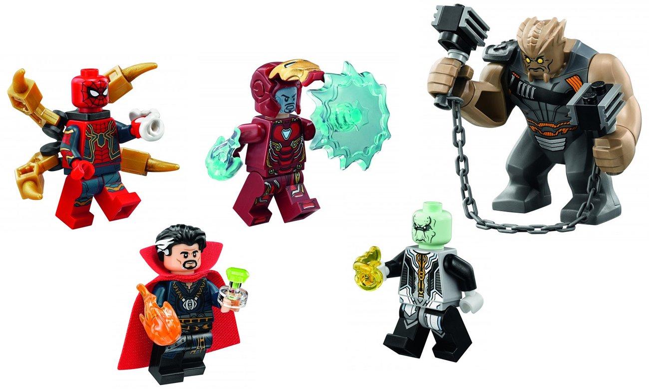 lego avangers minifigurki