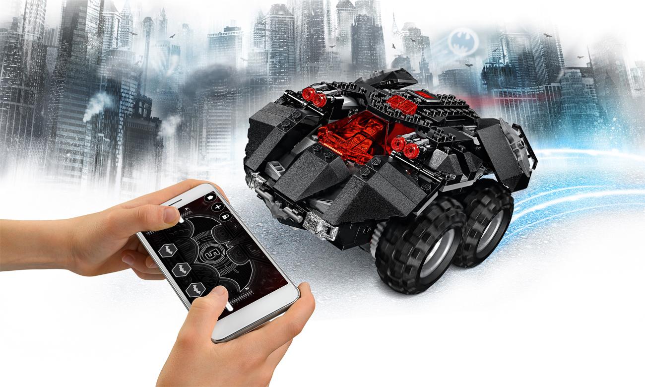 LEGO® DC Super Heroes Zdalnie sterowany Batmobil
