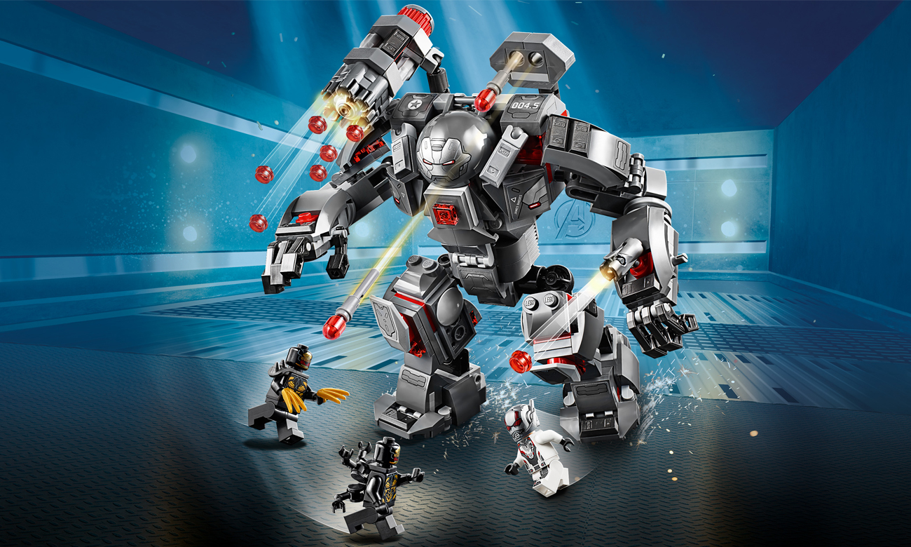 LEGO Marvel Super Heroes Pogromca War Machine
