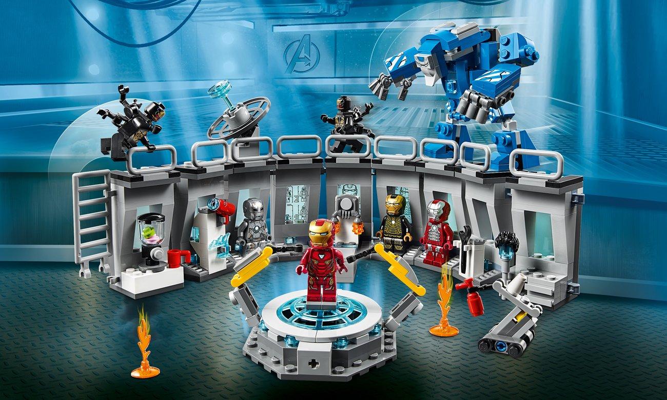 LEGO Marvel Super Heroes Zbroje Iron Mana