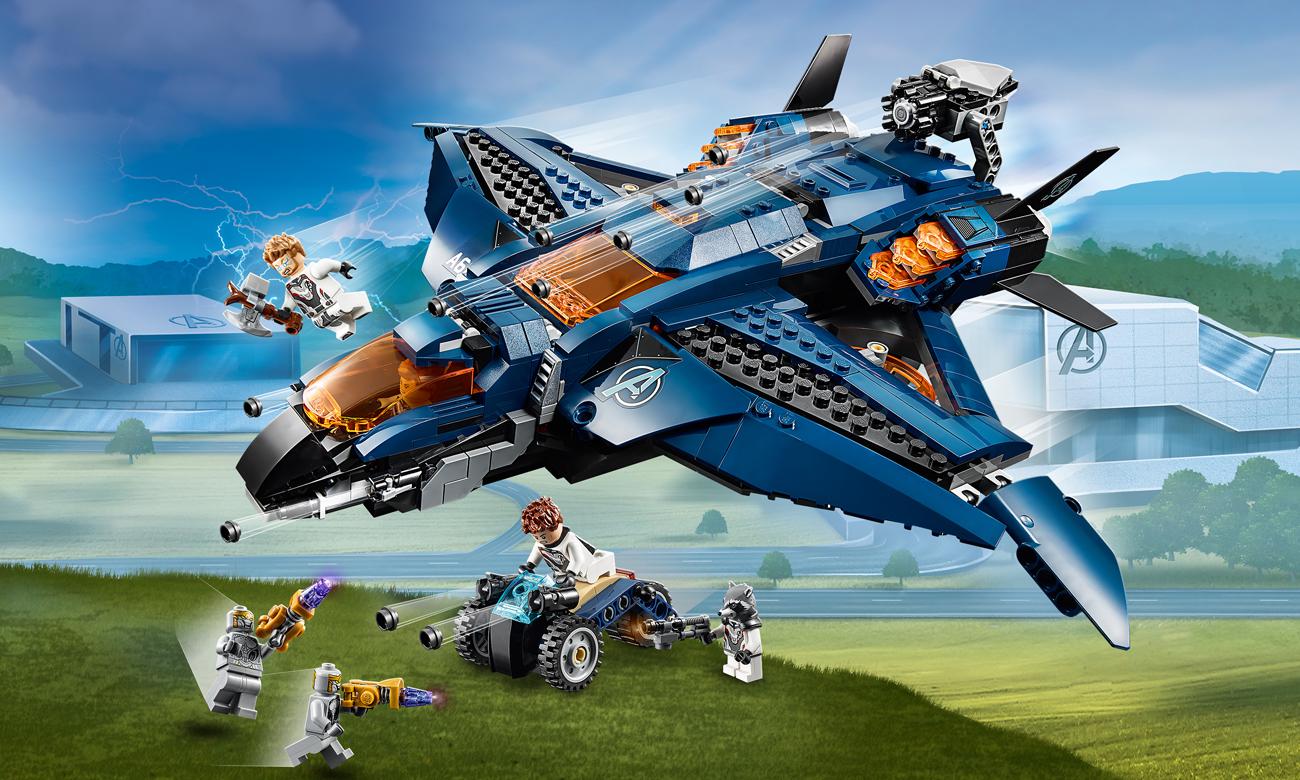 LEGO Marvel Super Heroes Wspaniały Quinjet Avengersów