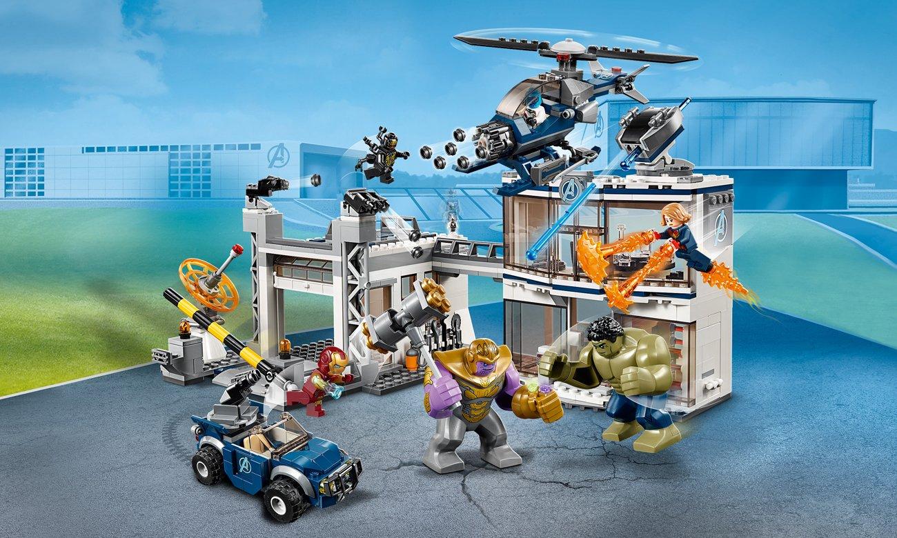 LEGO Marvel Super Heroes Bitwa w kwaterze Avengersów
