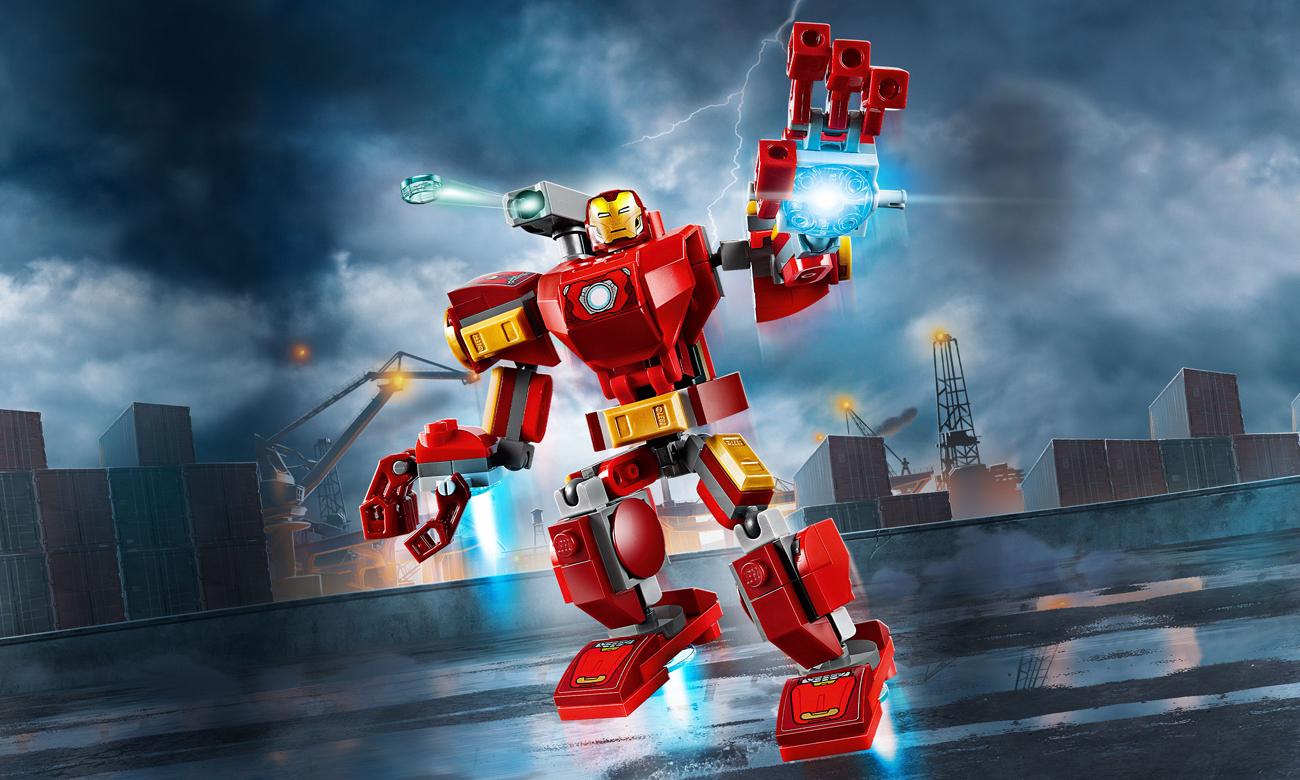 LEGO Marvel Super Heroes Mech Iron Mana