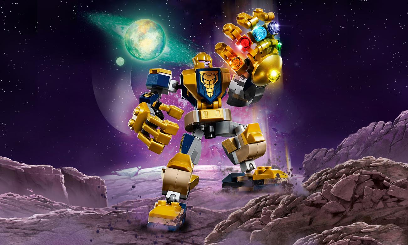 LEGO Marvel Super Heroes Mech Thanosa