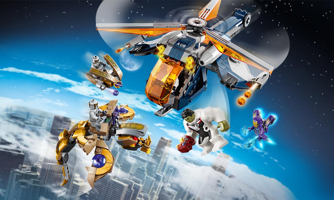 LEGO Marvel Avengers: Upadek helikoptera Hulka