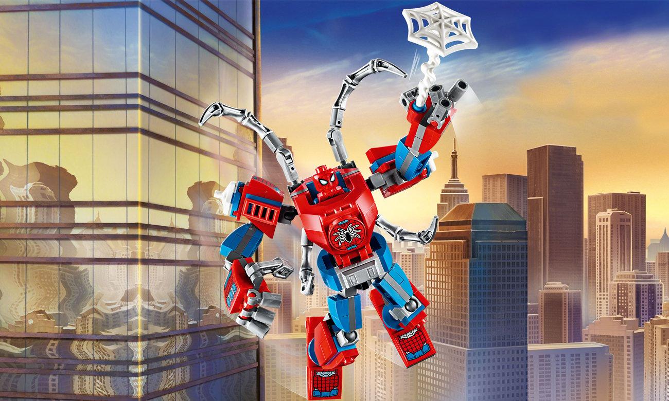 LEGO Marvel Spider-Man Mech Spider-Mana