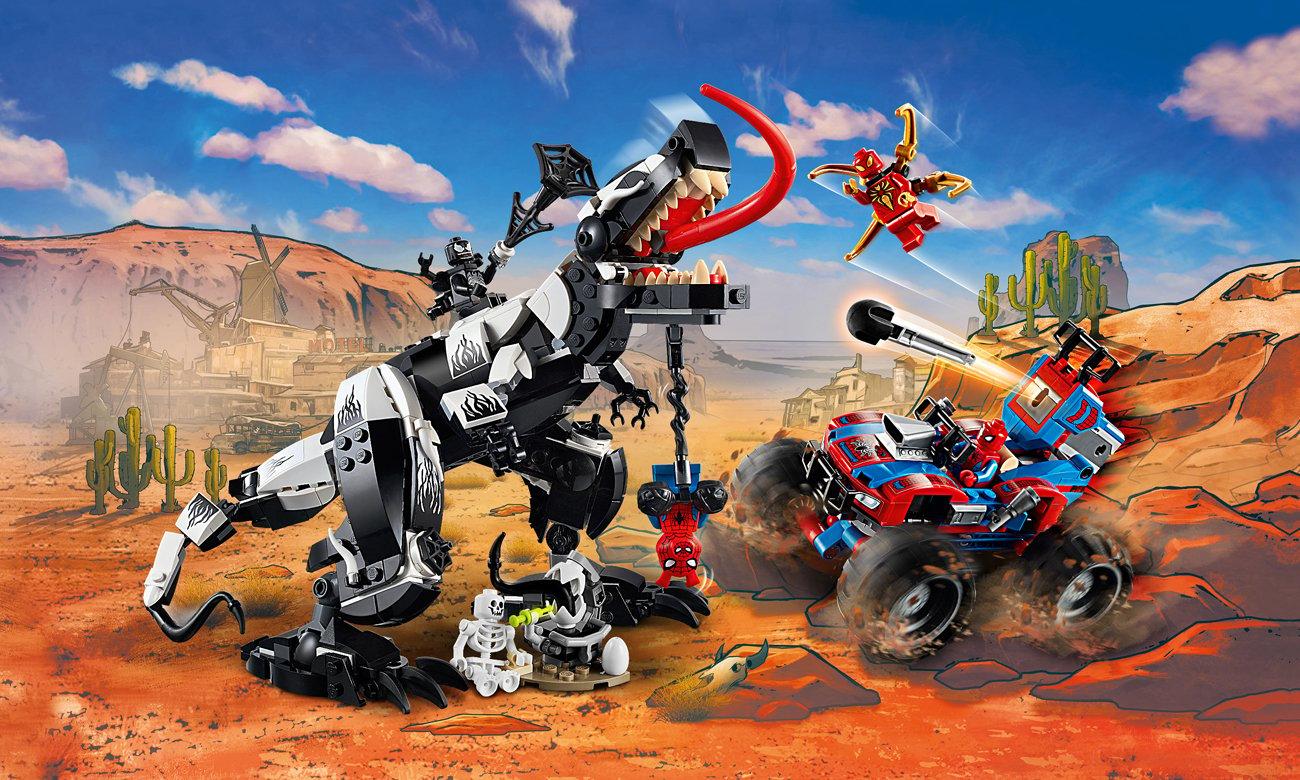 LEGO Marvel Spider-Man Starcie z Venomozaurem