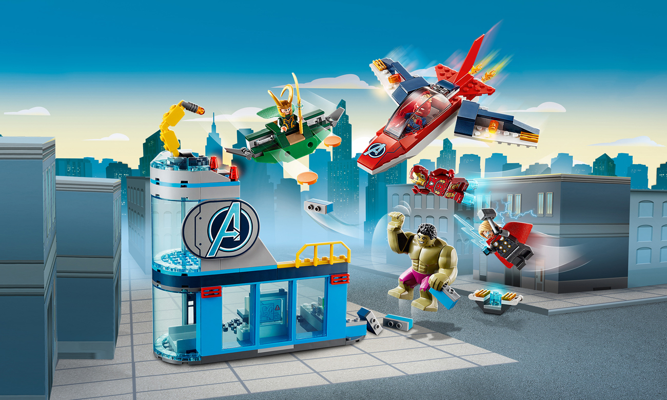 LEGO Marvel Super Heroes Avengersi — gniew Lokiego