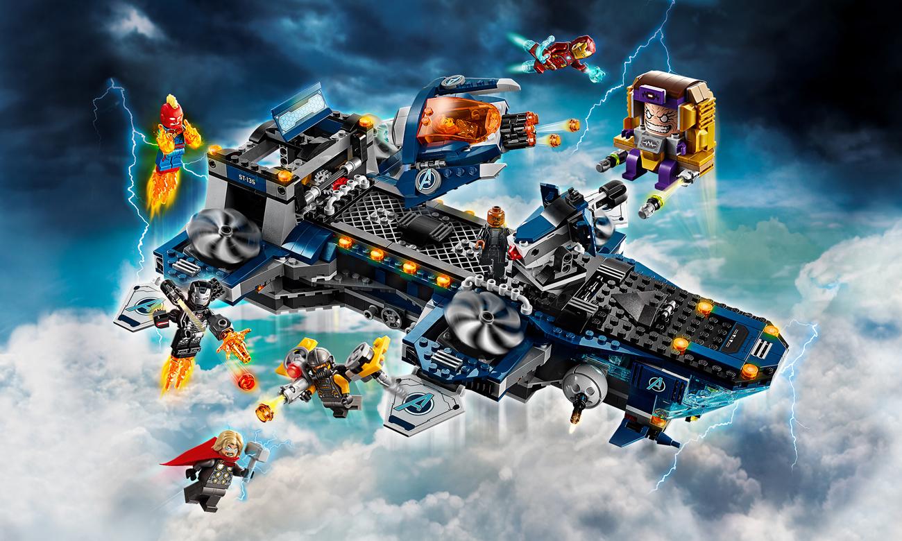 LEGO Marvel Super Heroes Lotniskowiec Avengersów