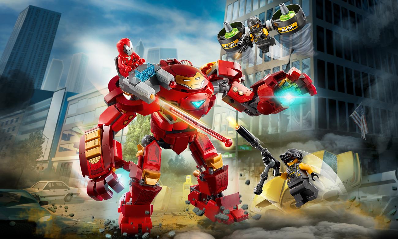 LEGO Marvel Avengers Hulkbuster Iron Mana