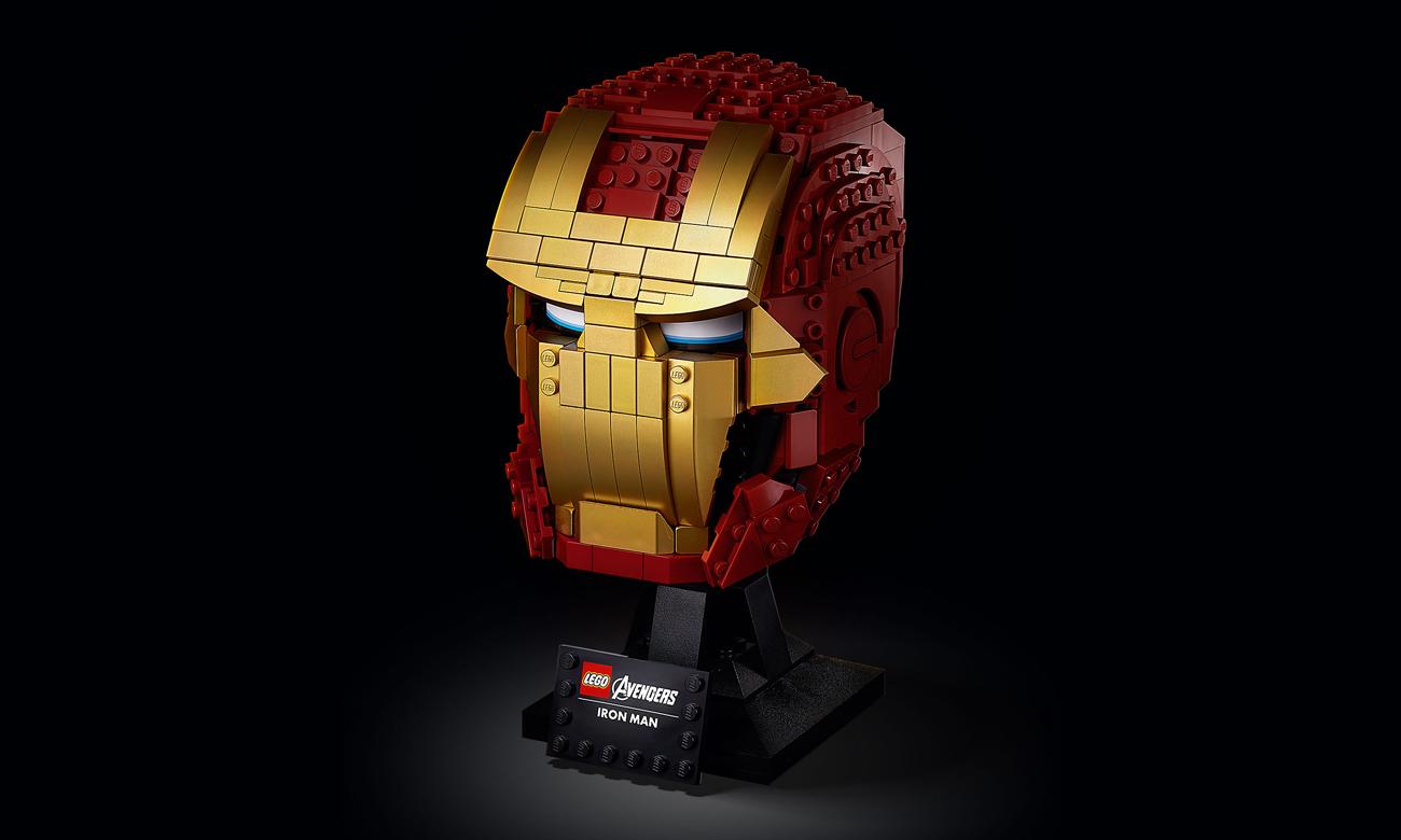 LEGO Marvel Avengers Hełm Iron Mana