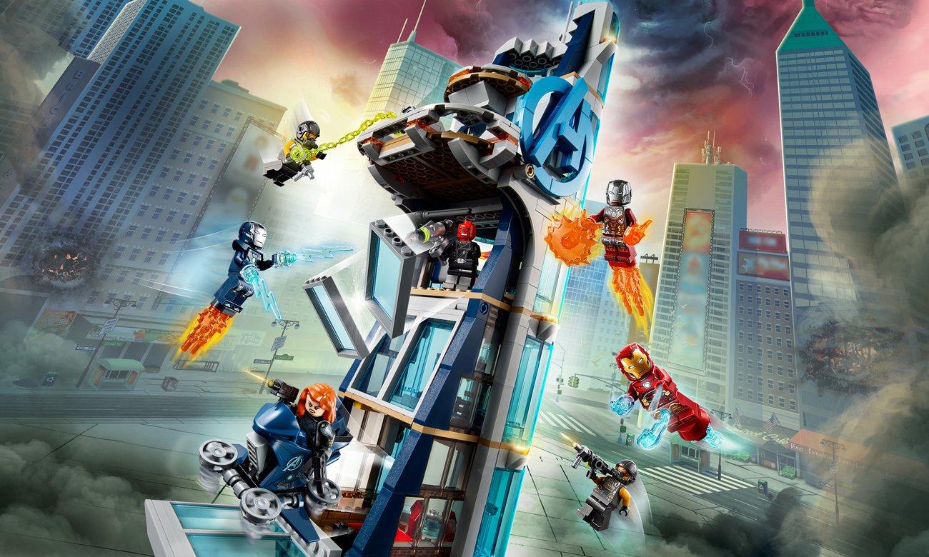 LEGO Marvel Avengers Walka o Wieżę Avengersów