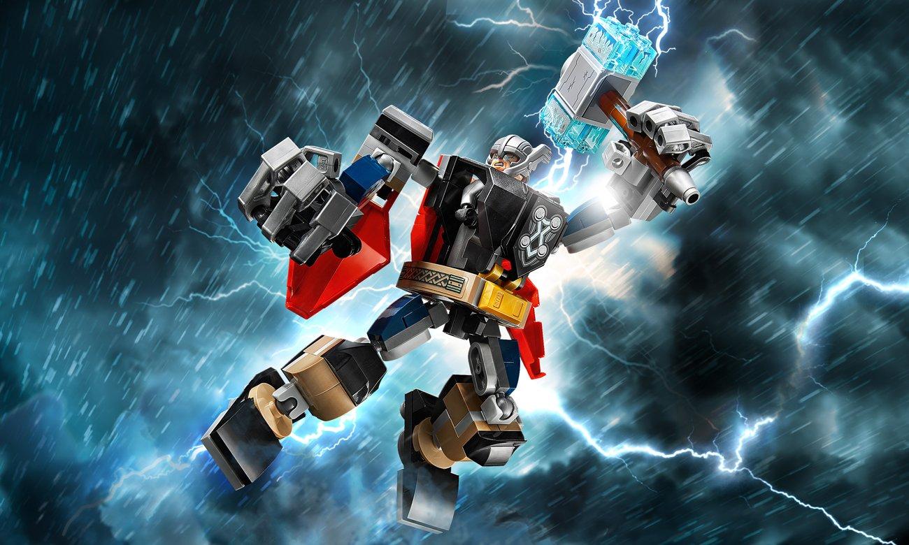 LEGO Marvel Avengers Opancerzony mech Thora
