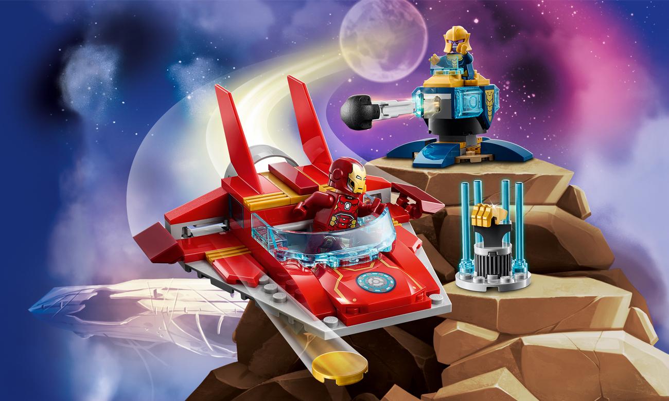 LEGO Marvel Iron Man kontra Thanos
