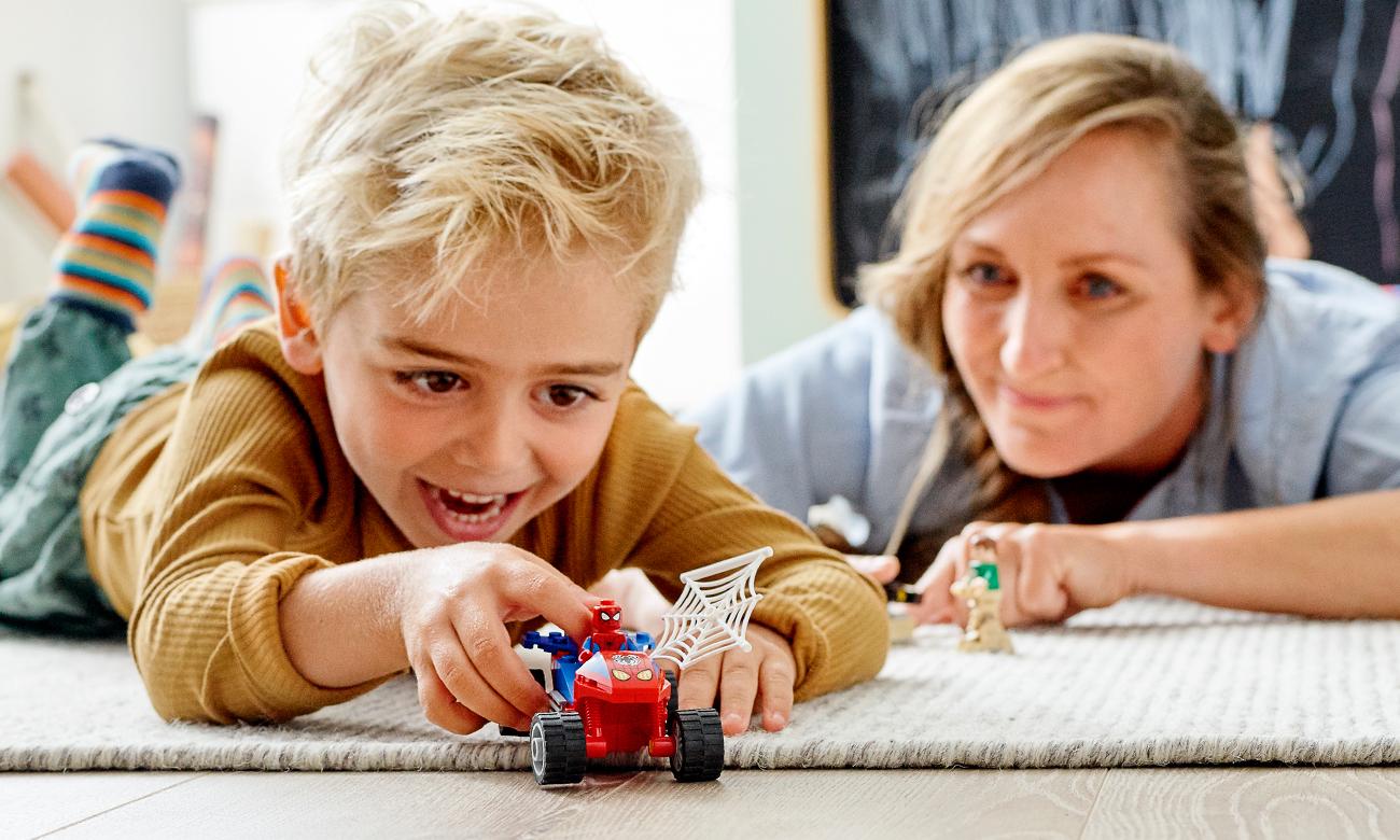 zestaw lego spiderman